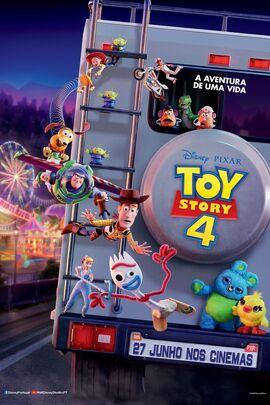 Toy Story 4 Pôster Novo (2)