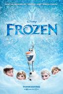 Pôster de Frozen