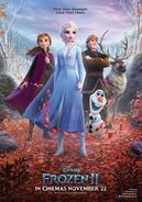 Frozen 2 british poster