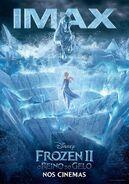 Frozen II - O Reino do Gelo - Pôster IMAX