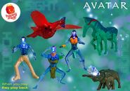 Avatar Happy Meal Toys