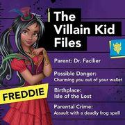 The Villain Kid Files - Freddie