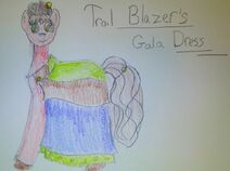 Trail Blazer's Gala Dress
