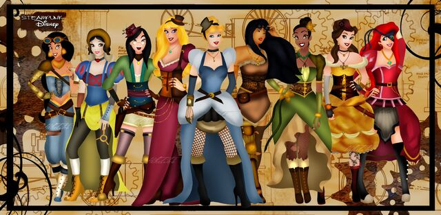 File:Steampunk disney princesses by helleetitch-d4907l2.jpg