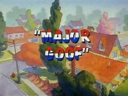Major Goof