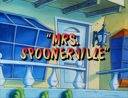 Mrs Spoonerville