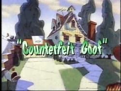 Counterfeit Goof
