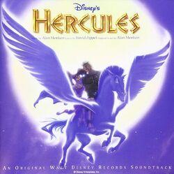 Disney's Hercules soundtrack - Japanese version
