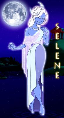 Selene luna by 666 lucemon 666-dc4m4dm