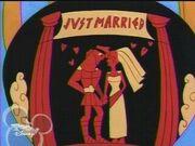 Hercules and Megara married