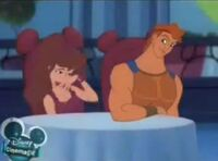 Meg and Hercules House of mouse