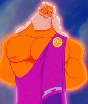 Zeus in the movie