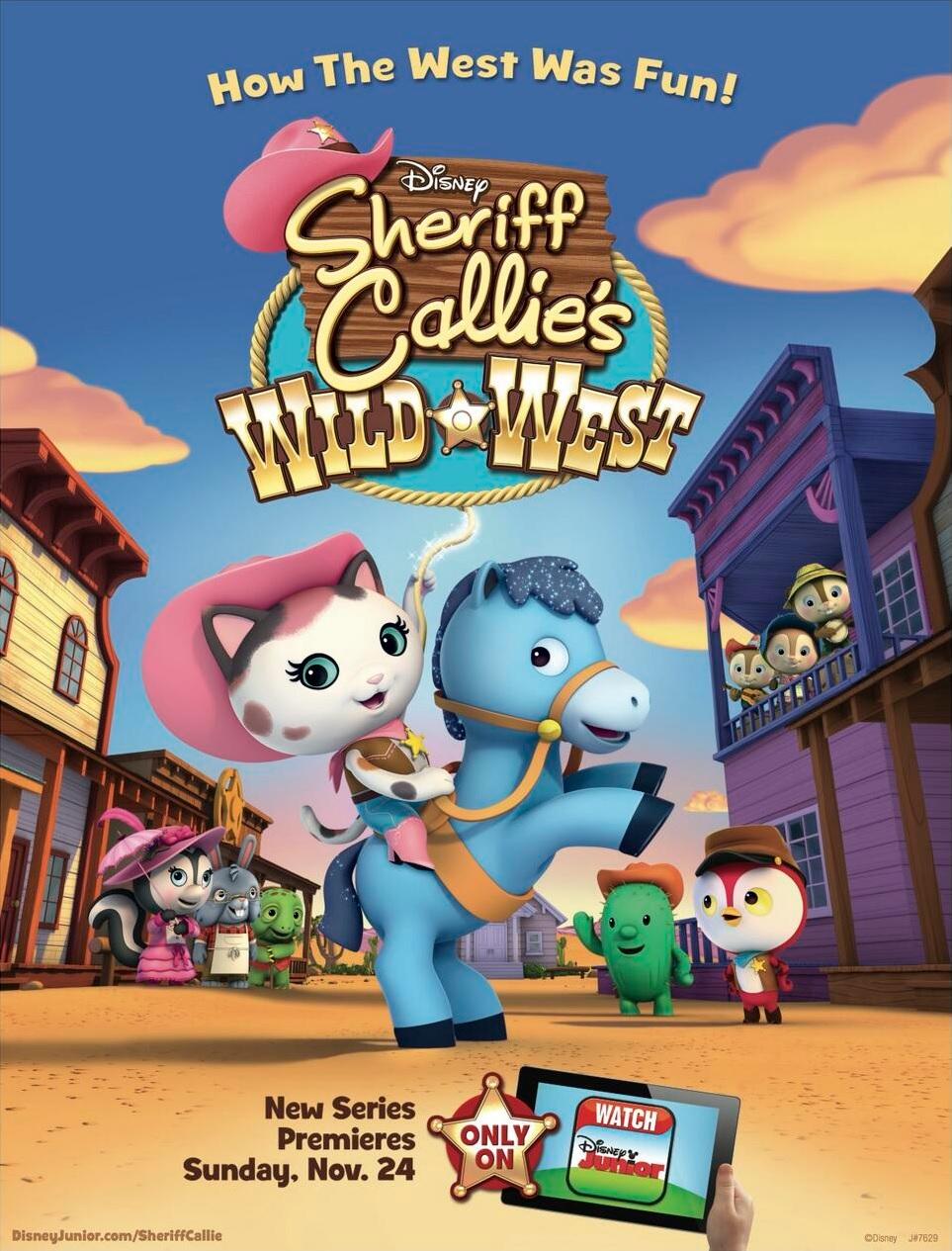 La Sheriff Callie En El Oeste Calliepedia Fandom Powered