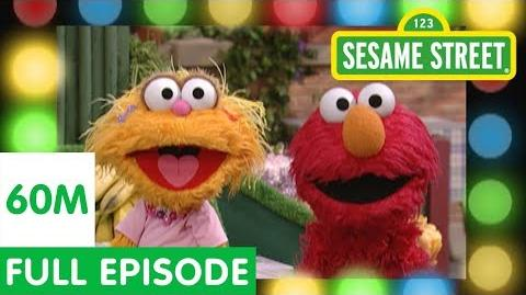 Elmo and Zoe Play the Healthy Food Game Sesame Street Full Episodes