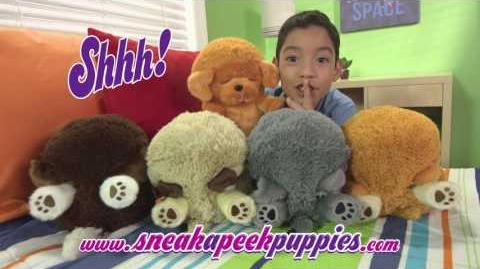 The Official Commrecial for Sneak A Peek Puppies!