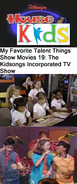 Disney's House of Kids - My Favorite Talent Things Show Movies 19- The Kidsongs Incorporated TV Show
