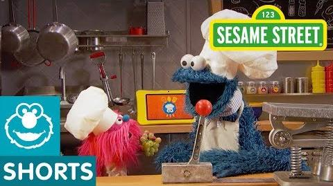 Sesame Street Fruit Salad with Grapes Cookie Monster's Foodie Truck