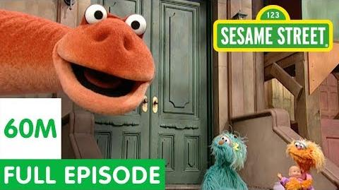 Dinosaur on Sesame Street Sesame Street Full Episode