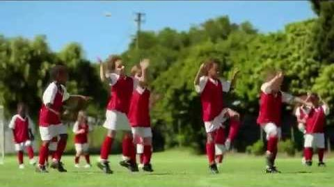 TV Spot - Band Aid Comfort Sheer - Soccer Game - Best Coverage Even On The Field