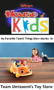 Disney's House of Kids - My Favorite Talent Things Show Movies 18- Team Umizoomi's Toy Store