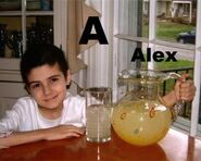 Alex (from Alex's Lemonade Stand)