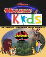 Disney's House of Kids - The Friendship Club Platinum Edition Volume 19- Adevntures From The Book Of Virtues Friendship