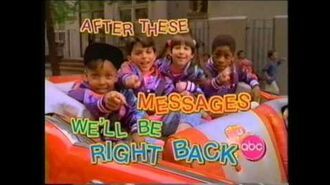 "ABC A.M. Posse ""After These Messages"" bumpers - 1991"