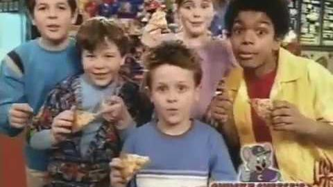 Chuck E Cheeses Commercial Super Chuck Pizza