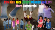 PBS Kids, Nick, Disney Channel and Lots More Commercial logo