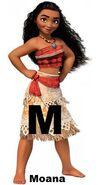 Moana disney character