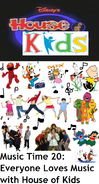 Disney's House of Kids - Music Time 20- Everyone Loves Music with House of Kids