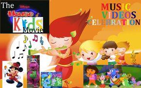 The Disney's House of Kids Movie - Music Videos Celebration