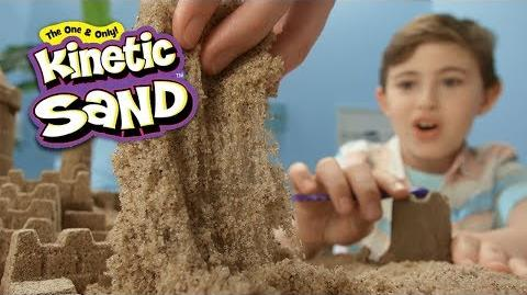 Kinetic Sand Build Real Sandcastles at Home!