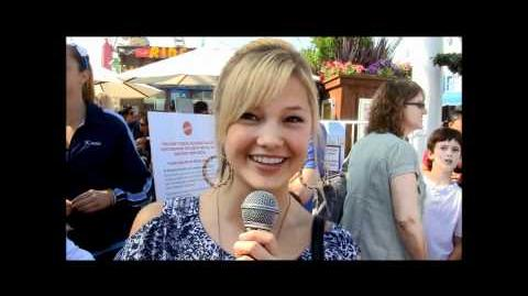 Olivia Holt talks to HTZ about her Halloween costume plans and favorite candy