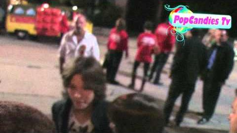Leo Howard greets fans @ The 80th Anniversary Hollywood Christmas in Hollywood!