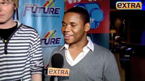 'Extra' Raw! Talking with the Disney Channel Stars