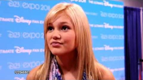 Olivia Holt on her favorite Disney memory, working on the show, on next season and being at D23 2011