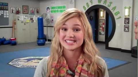 """Kickin' It Olivia Holt """"Kim"""" Disney XD"""