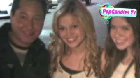 Olivia Holt leaving Madison Pettis's 13th Birthday @ Eden in Hollywood!