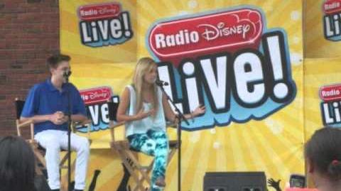 Meeting Olivia Holt and Dylan Riley Snyder 8 18 12