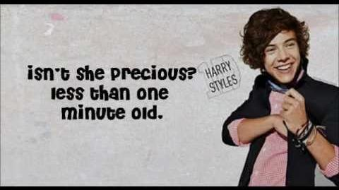 Isn't She Lovely - Harry Styles (Lyrics, X-Factor Audition)
