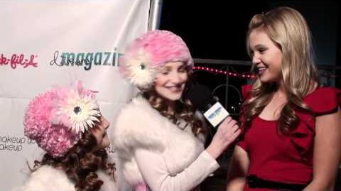 Mikayla and Shayna interview Olivia Holt - Kickin It