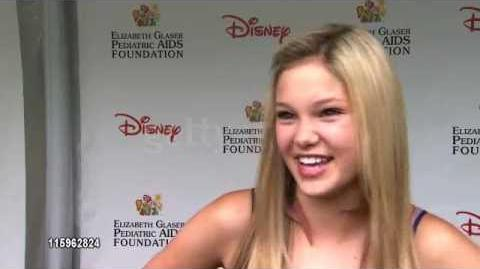 Olivia Holt INTERVIEW at the 22nd Annual Time for Heroes Celebrity Picnic 2011