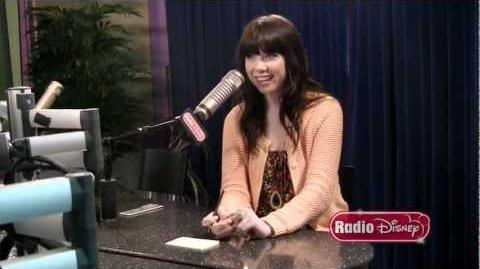"""Carly Rae Jepsen Radio Disney """"Take Over"""" and """"Call Me Maybe"""" Rap"""