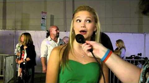 "Olivia Holt Talks ""Kickin' It"" Season 2!"