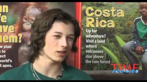 Leo Howard Time for Kids Interview
