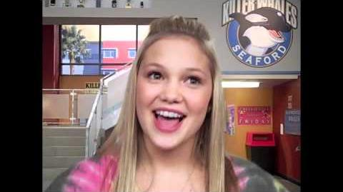 Kickin' It's OLIVIA HOLT Talks About Being The Only Girl On Set And Which Episode She Loved Filming!