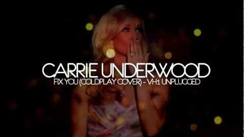 Carrie Underwood - Fix You (Coldplay) - VH1 Unplugged 2012 Live