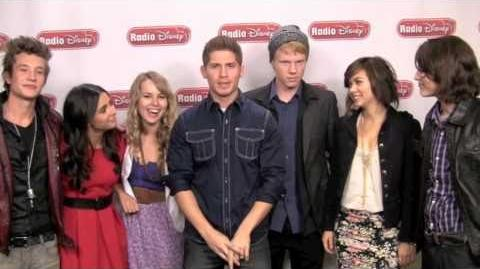 "Lemonade Mouth Cast's cover of ""Here We Go"""