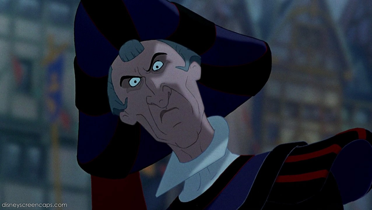 Judge Claude Frollo Japanese Anime Wiki Fandom Powered By Wikia